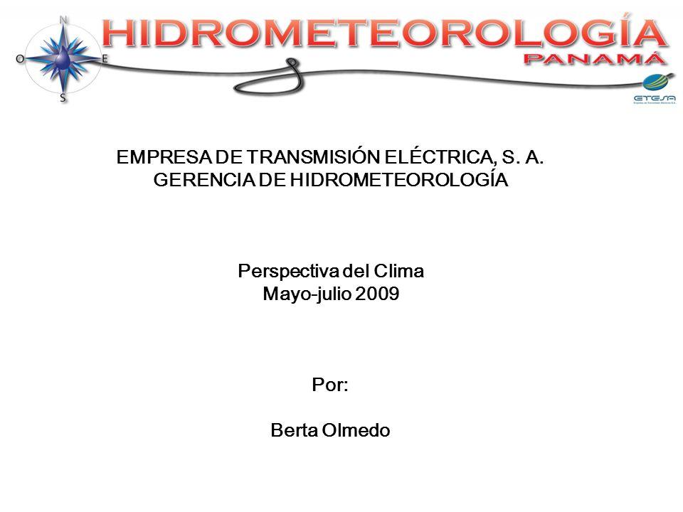 EMPRESA DE TRANSMISIÓN ELÉCTRICA, S. A.