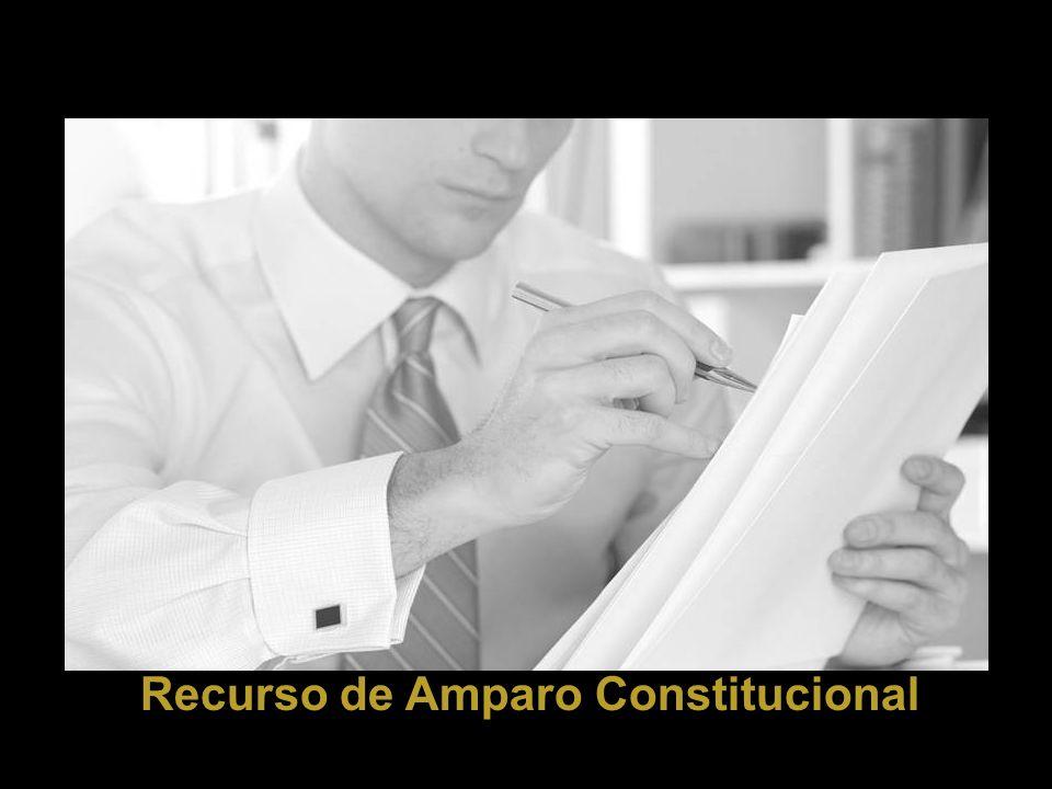 Recurso de Amparo Constitucional