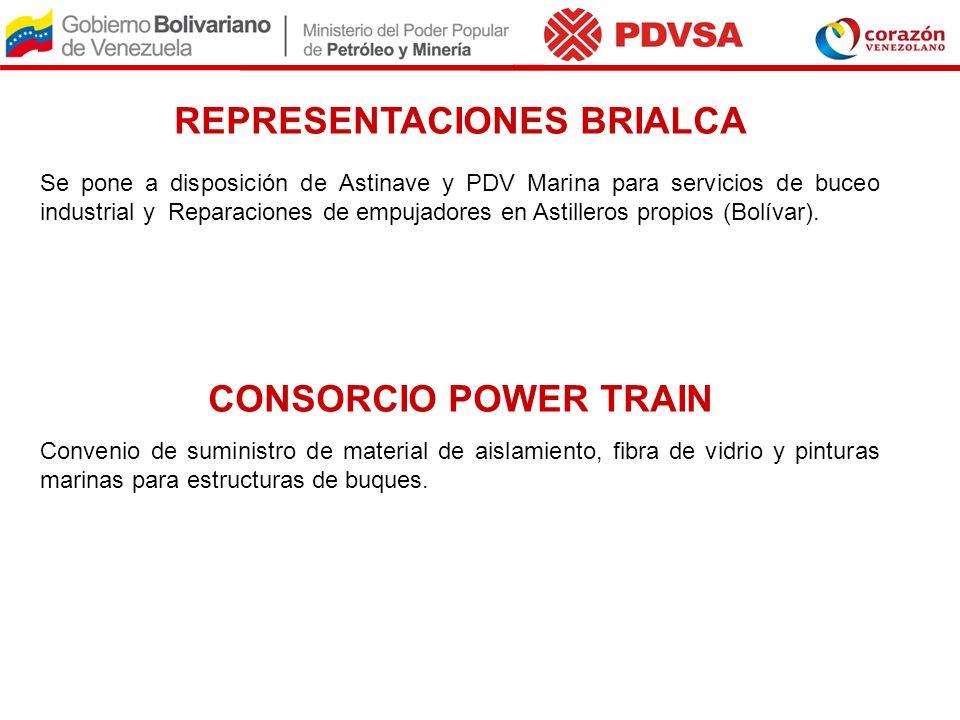 REPRESENTACIONES BRIALCA Se pone a disposición de Astinave y PDV Marina para servicios de buceo industrial y Reparaciones de empujadores en Astilleros