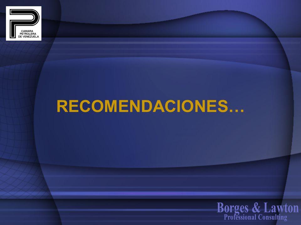 RECOMENDACIONES…