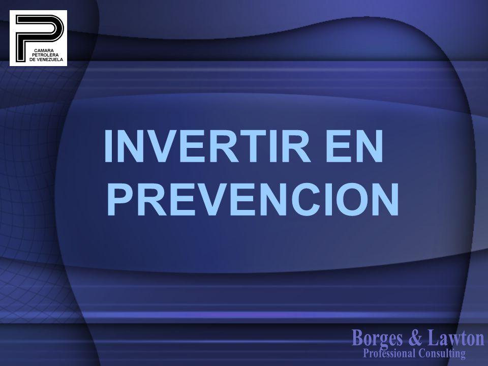INVERTIR EN PREVENCION