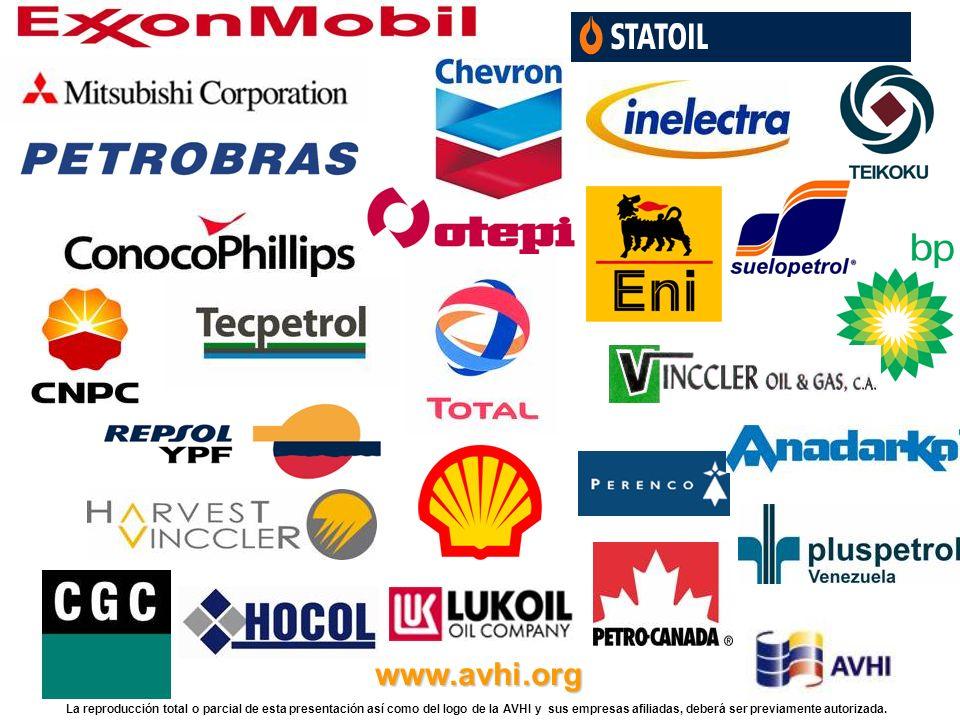 www.avhi.org La reproducción total o parcial de esta presentación así como del logo de la AVHI y sus empresas afiliadas, deberá ser previamente autori
