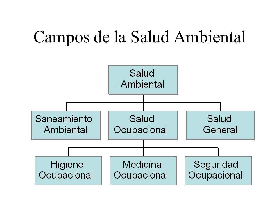 Campos de la Salud Ambiental