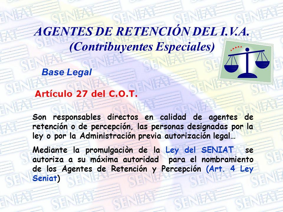 RÉGIMEN DE RETENCIÓN DEL I.V.A.