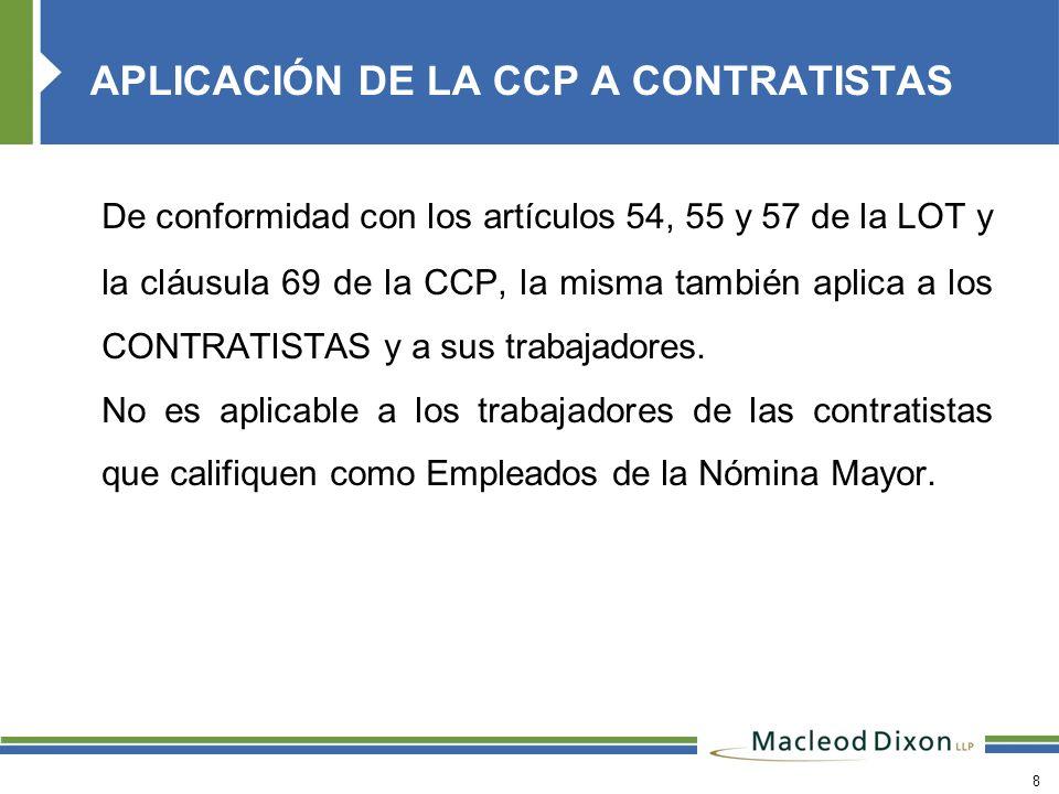 29 Indicar en Contrato de Trabajo el cargo y funciones del trabajador.