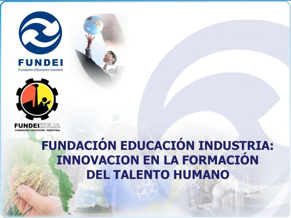 Integramos visiones para el desarrollo del talento humano FUNDACIÓN EDUCACIÓN INDUSTRIA: INNOVACION EN LA FORMACIÓN DEL TALENTO HUMANO