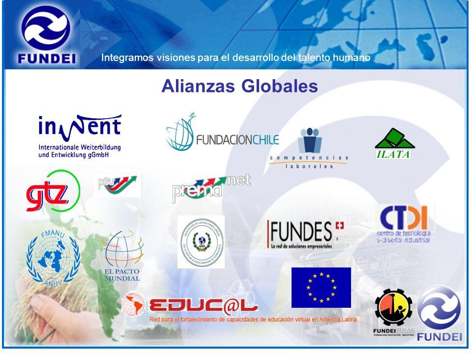 Integramos visiones para el desarrollo del talento humano Alianzas Globales