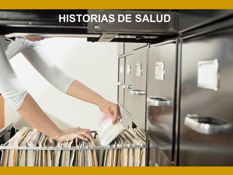 HISTORIAS DE SALUD