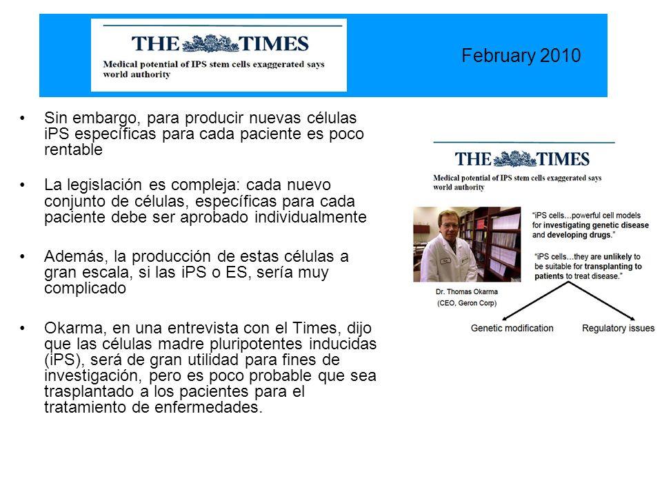Una empresa española, la Lifebank Therapeutics (LT) está listo para usar la tecnología de células madre pluripotentes inducidas (iPS), para el tratamiento de pacientes con enfermedad de Huntington.