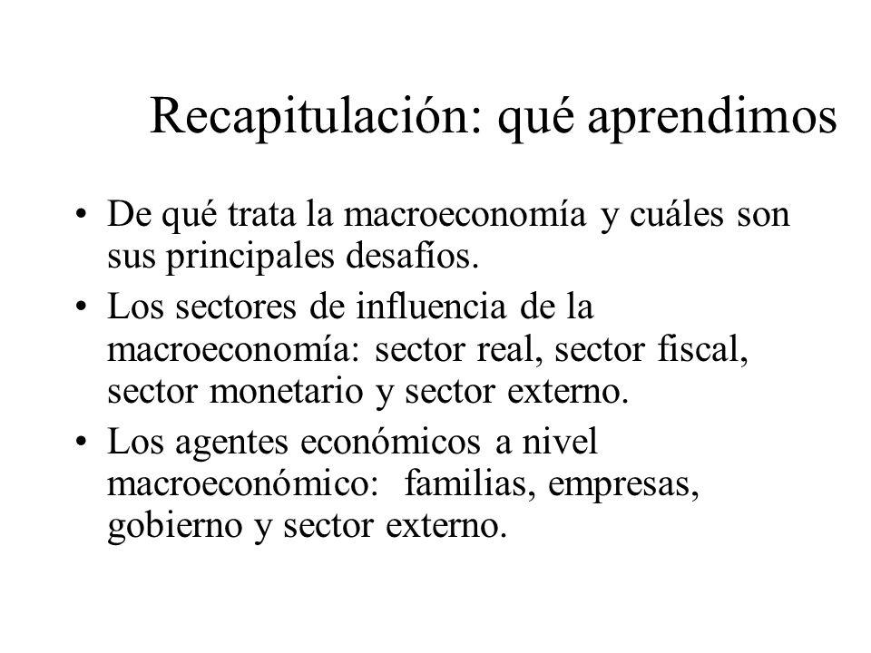 La política macroeconómica Las políticas de oferta son todas aquellas que incrementan el producto potencial de la economía, o sea el crecimiento econó