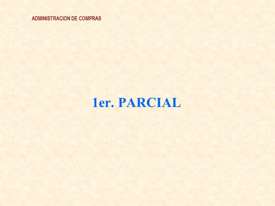 ADMINISTRACION DE COMPRAS - 1er. PARCIAL 2