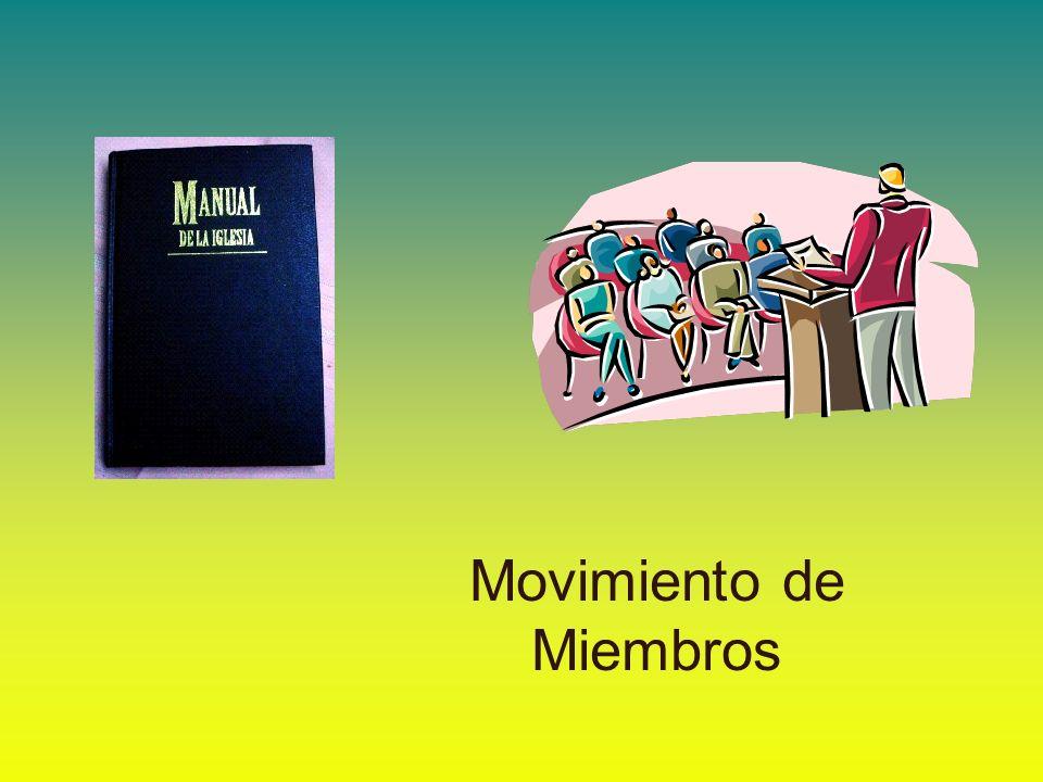 Movimiento de Miembros