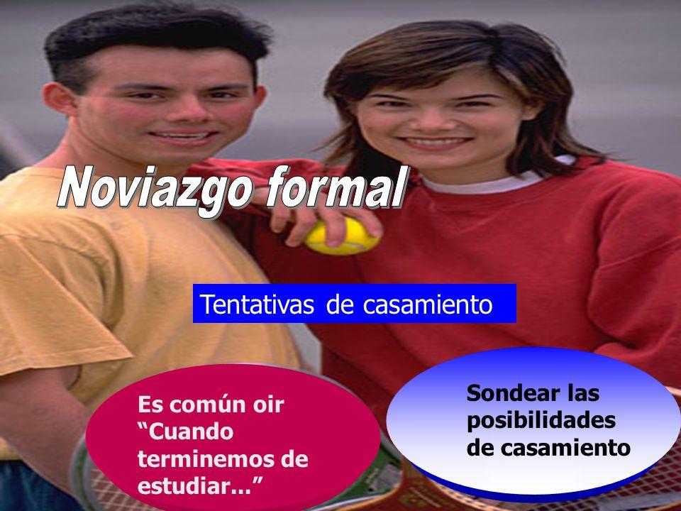 Consejos a los enamorados Un joven que se complace en la compañía de una señorita y conquista su amistad a espaldas de sus padres no desempeña un pape