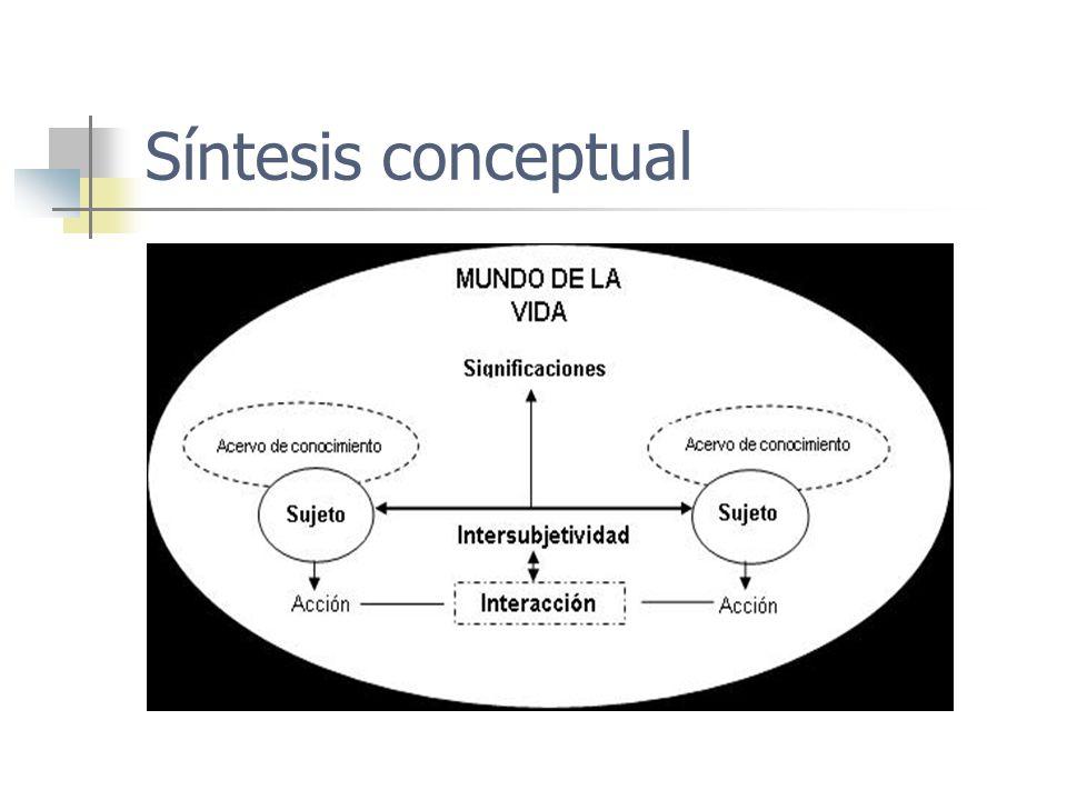 Síntesis conceptual