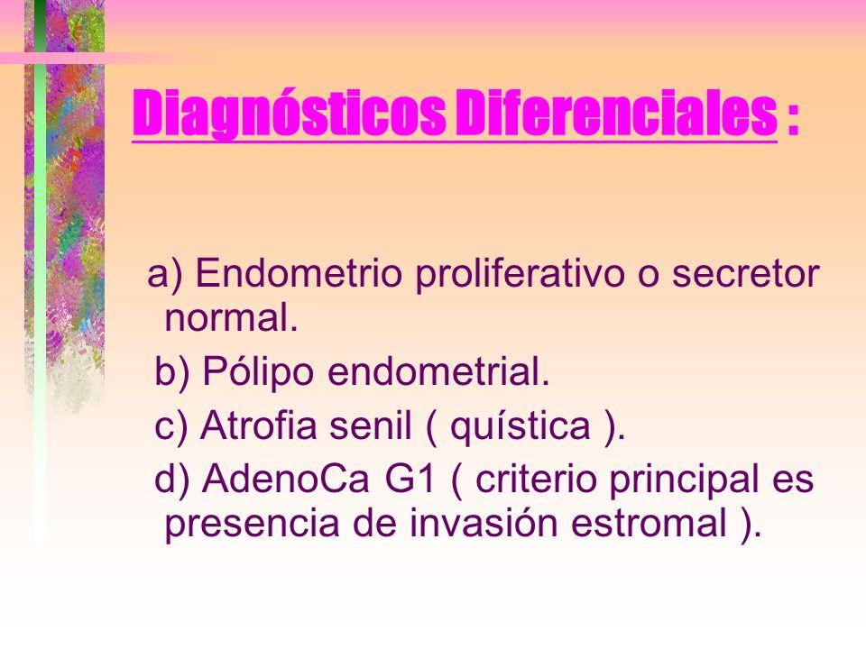 TRH y Ca de Endometrio Es sabida la necesidad de establecer un balance apropiado entre progestagenos y estrogenos en las TRH para no elevar la tasa de Patologia endometrial.