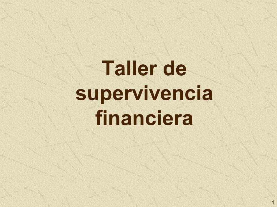 1 Taller de supervivencia financiera