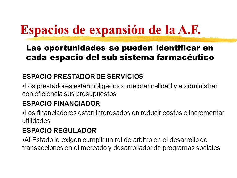 ESPACIO PRESTADOR DE SERVICIOS Los prestadores están obligados a mejorar calidad y a administrar con eficiencia sus presupuestos. ESPACIO FINANCIADOR