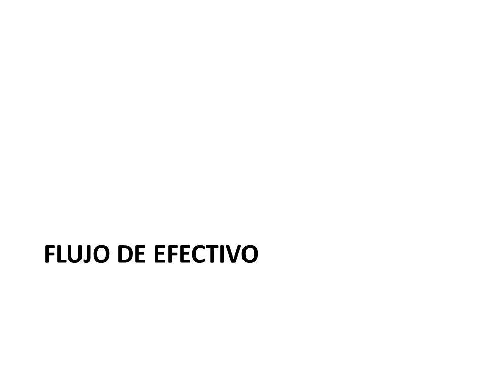 FLUJO DE EFECTIVO
