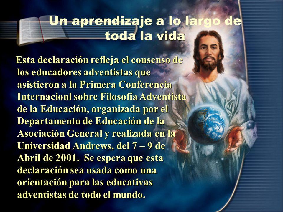 5. Responder al llamado de Dios en la elección y el ejercicio de una carrera o profesión, apoyando mediante ella la Misión Mundial Adventista y contri