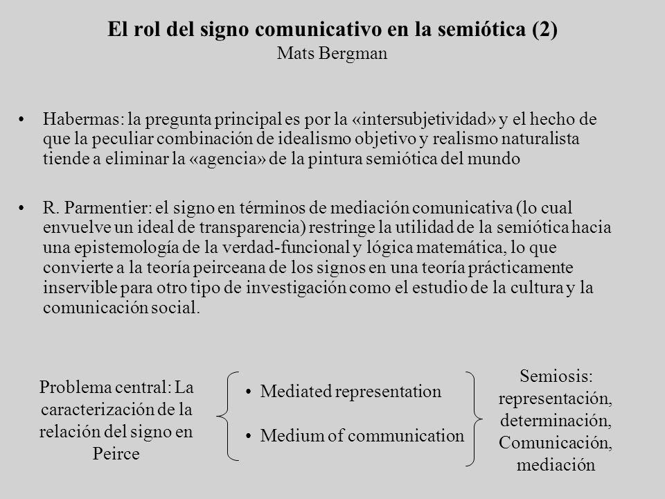 Habermas: la pregunta principal es por la «intersubjetividad» y el hecho de que la peculiar combinación de idealismo objetivo y realismo naturalista t