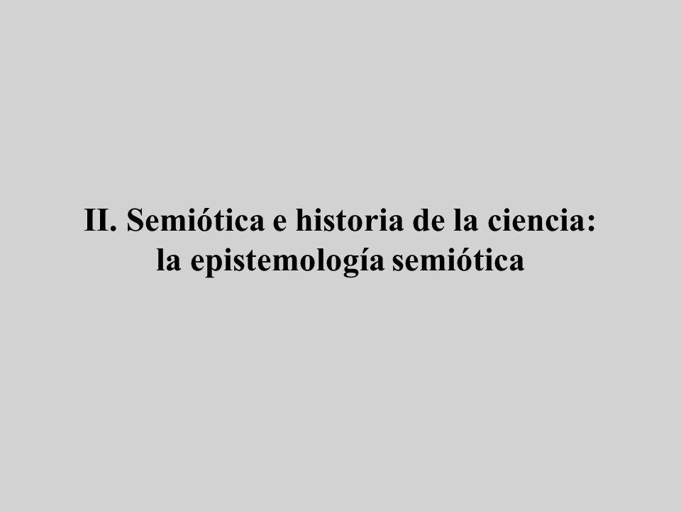 Historias de la semiótica (1) Historias extensasHistorias cronológicas y por autoresHistorias temáticas Deely (2006).