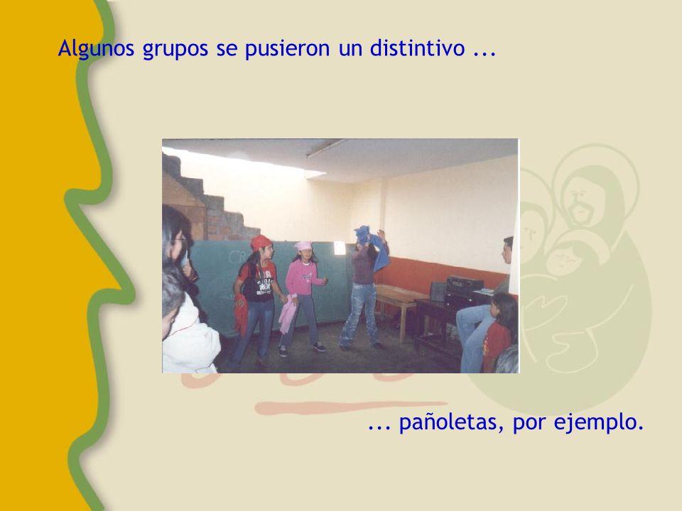 Los niños del taller también formaron su grupo para bailar.