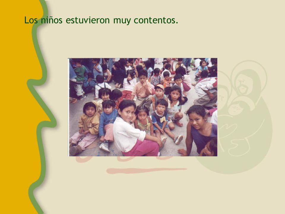 Esta es la campaña del año pasado, se realizó en el mismo colegio que el año anterior.