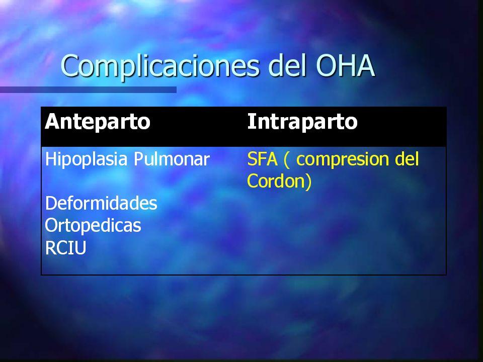 Complicaciones del OHA