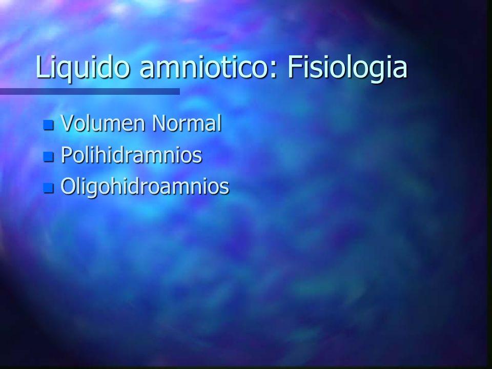 Manejo del OHA n Tipo I: Determinar presencia o ausencia de malformaciones fetales, cuantificar el crecimiento fetal.