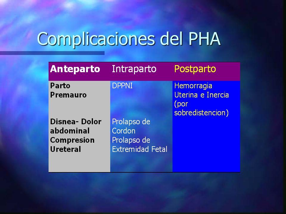 Complicaciones del PHA