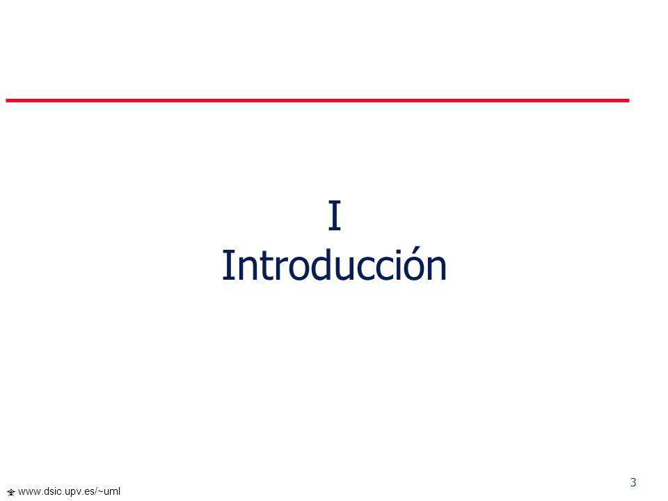 43 www.dsic.upv.es/~uml Diagrama de Estados II. Breve Tour por UML
