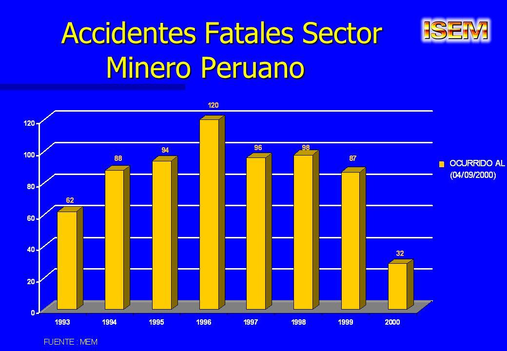 Accidentes Fatales Sector Minero Peruano Accidentes Fatales Sector Minero Peruano