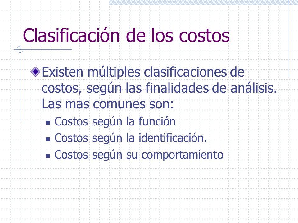 Costos indirectos Mano obra indirecta: ocasionada por personal cuya actividad está relacionada con varios o todos los productos y/o áreas en el período.