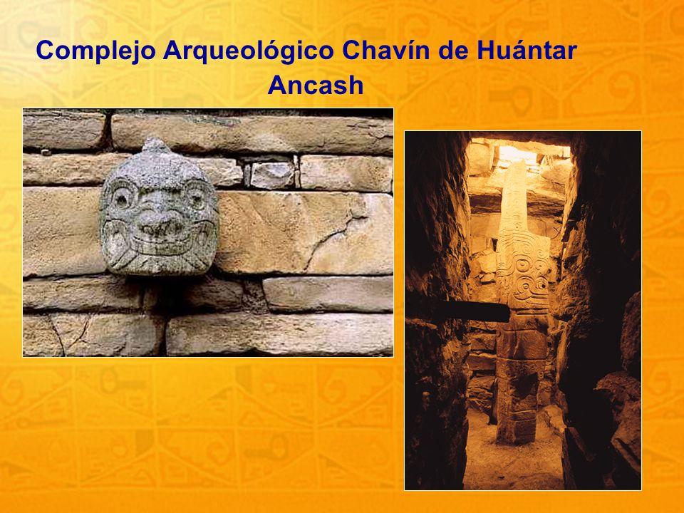 14 Complejo Arqueológico Chavín de Huántar Ancash