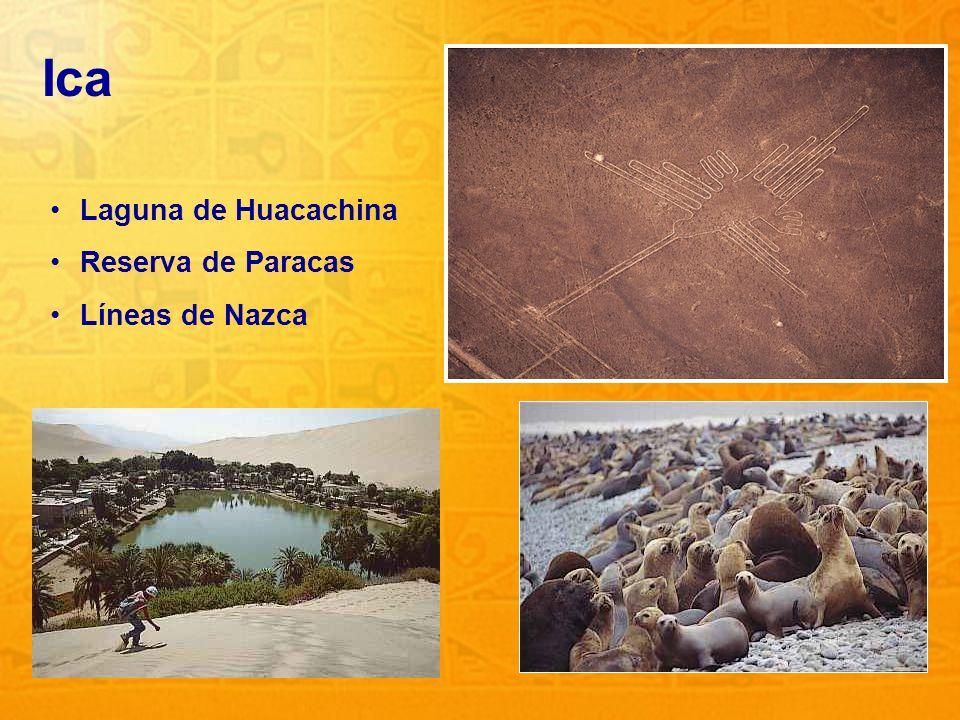 18 Ica Laguna de Huacachina Reserva de Paracas Líneas de Nazca