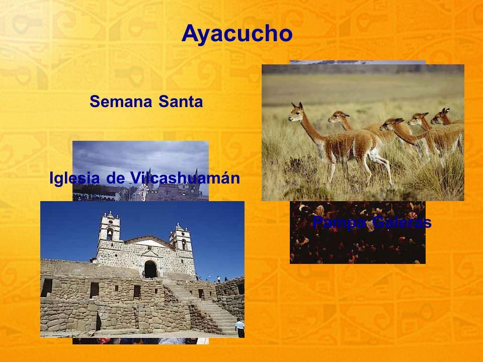 20 Ayacucho Semana Santa Pampa Galeras Iglesia de Vilcashuamán