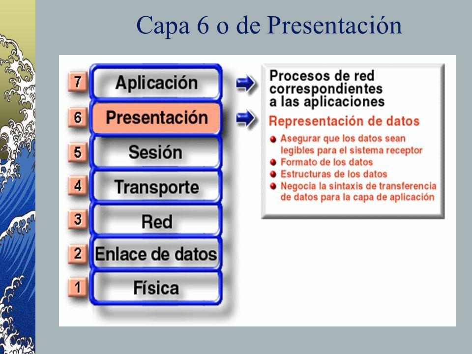 Capa 6 o de Presentación