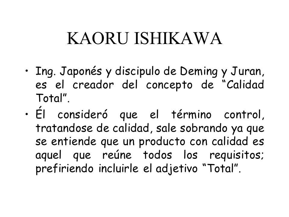 KAORU ISHIKAWA El enfoque de la Calidad Total