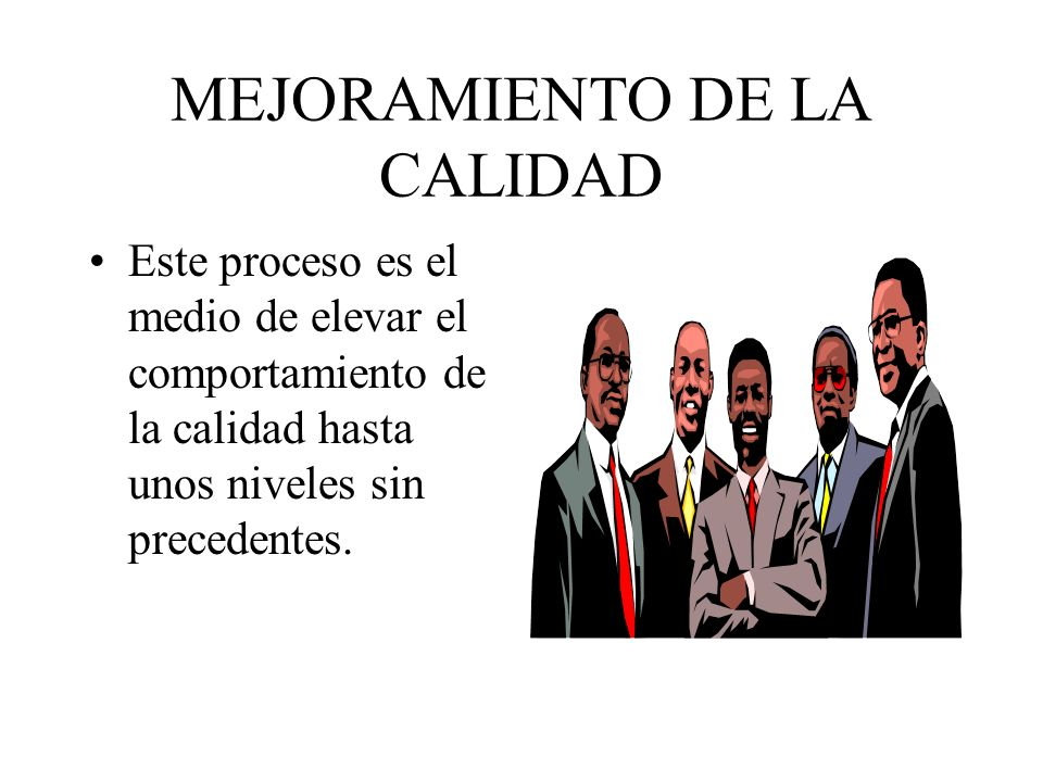 PASOS PARA LA MEJORA DE LA CALIDAD Defensor del Control Estadístico del Proceso (CEP), J.M.