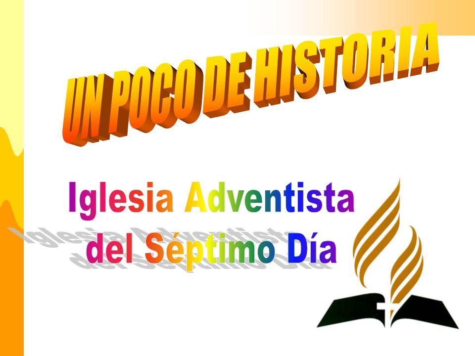 La iglesia Adventista, no es una iglesia mas, creemos que somos lo que somos, por voluntad divina en cumplimiento a las profecías específicas dadas por Dios.