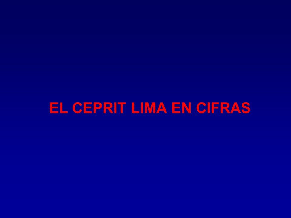 u CONSTITUIRNOS EN EL PRINCIPAL GESTOR PREVENTIVO DE SALUD PARA LOS TRABAJADORES Y LAS EMPRESAS DE LA REGION LIMA.