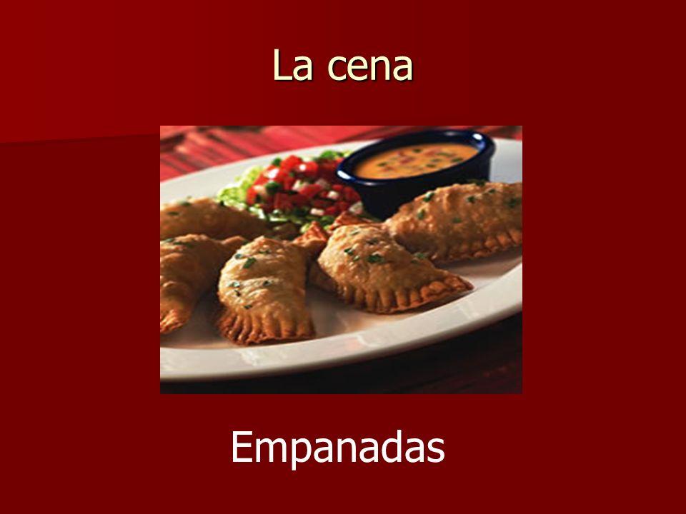 La cena Empanadas