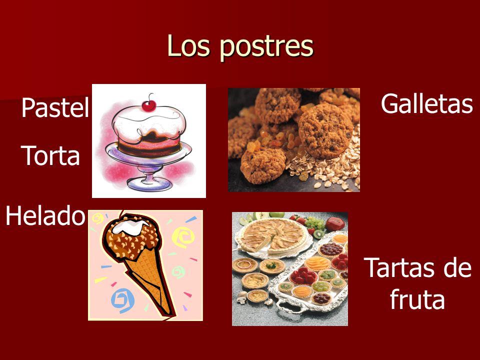 Los postres Pastel Torta Galletas Helado Tartas de fruta