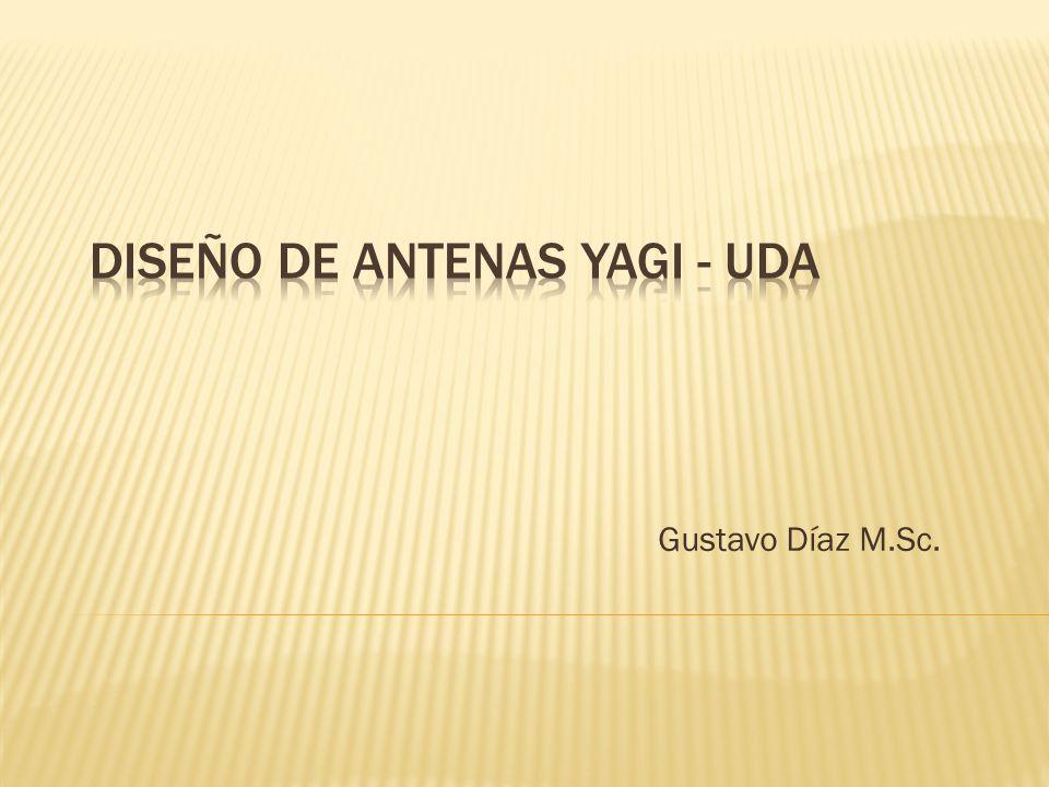 Las antenas Yagi-Uda llevan el nombre de sus inventores.