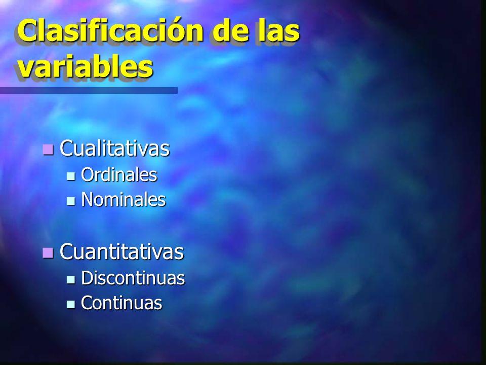 Variables cualitativas Definición: Definición: Son aquellos elementos de estudio que por sus características o particularidades o cualidades que tienen no puedan ser medibles.