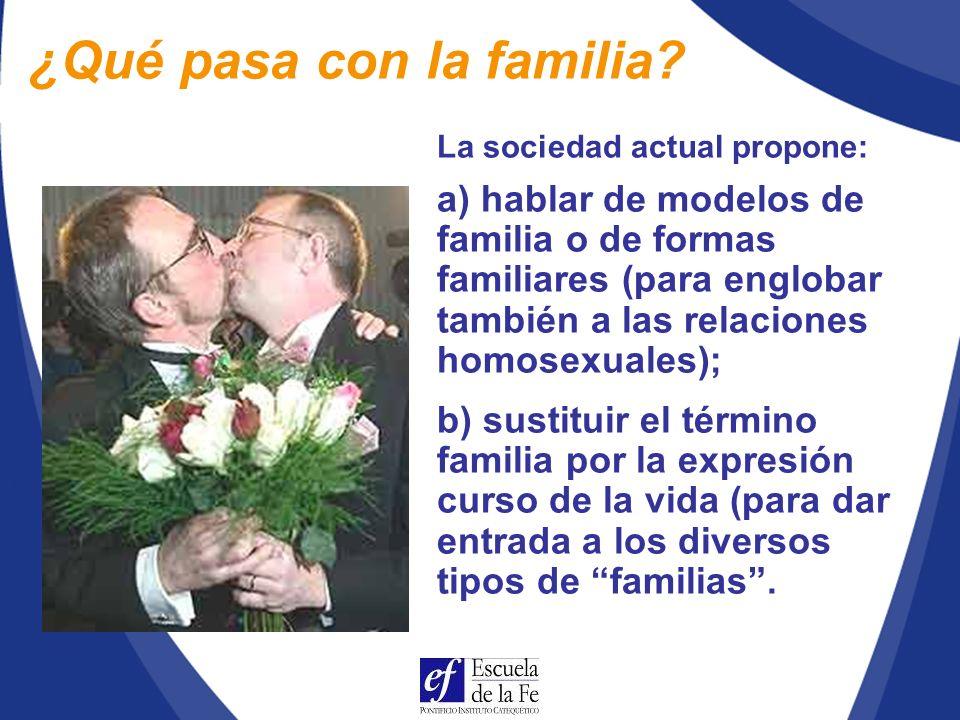 En la familia se aprende a conocer el amor y la fidelidad del Señor, así como la necesidad de corresponderle (n.