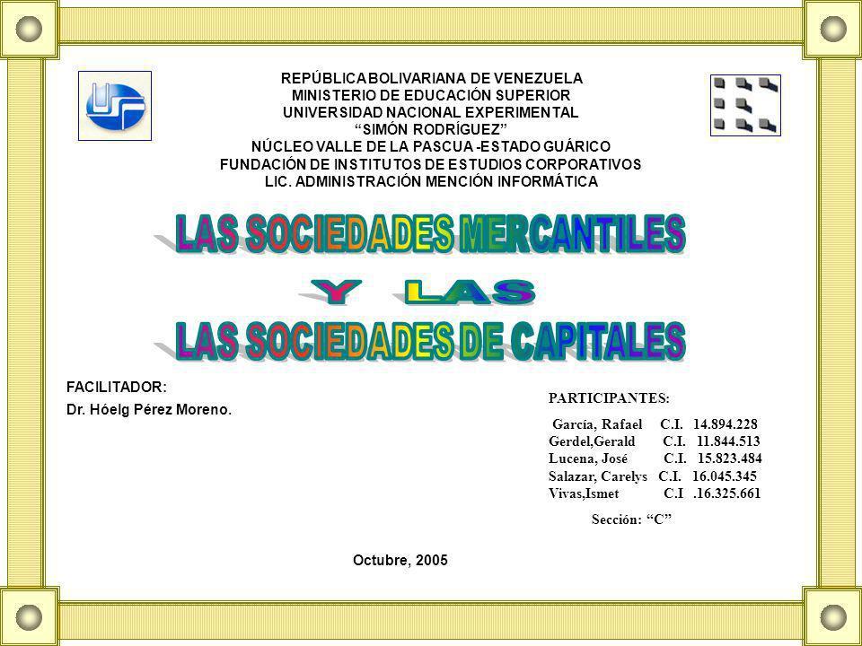 REPÚBLICA BOLIVARIANA DE VENEZUELA MINISTERIO DE EDUCACIÓN SUPERIOR UNIVERSIDAD NACIONAL EXPERIMENTAL SIMÓN RODRÍGUEZ NÚCLEO VALLE DE LA PASCUA -ESTADO GUÁRICO FUNDACIÓN DE INSTITUTOS DE ESTUDIOS CORPORATIVOS LIC.