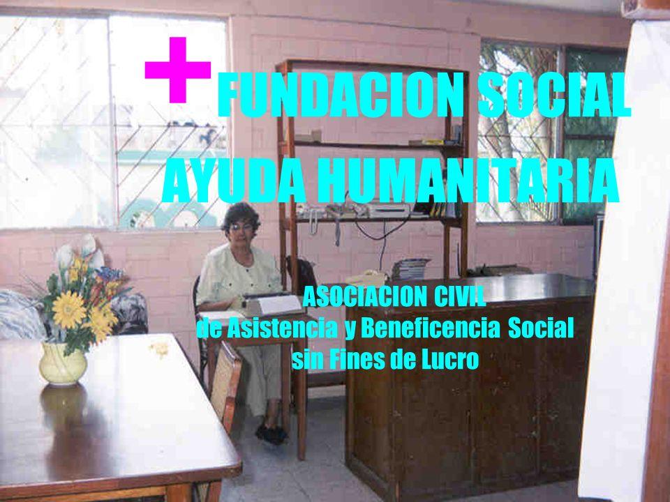 Metas Cuando menos: !Un Comedor Social de Ayuda Humanitaria en cada comunidad.
