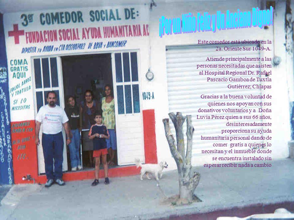 + ADA PARA INSTALAR COMEDORES Y ALBERGUES SOCIALES DE AYUDA HUMANITARIA Promueve: