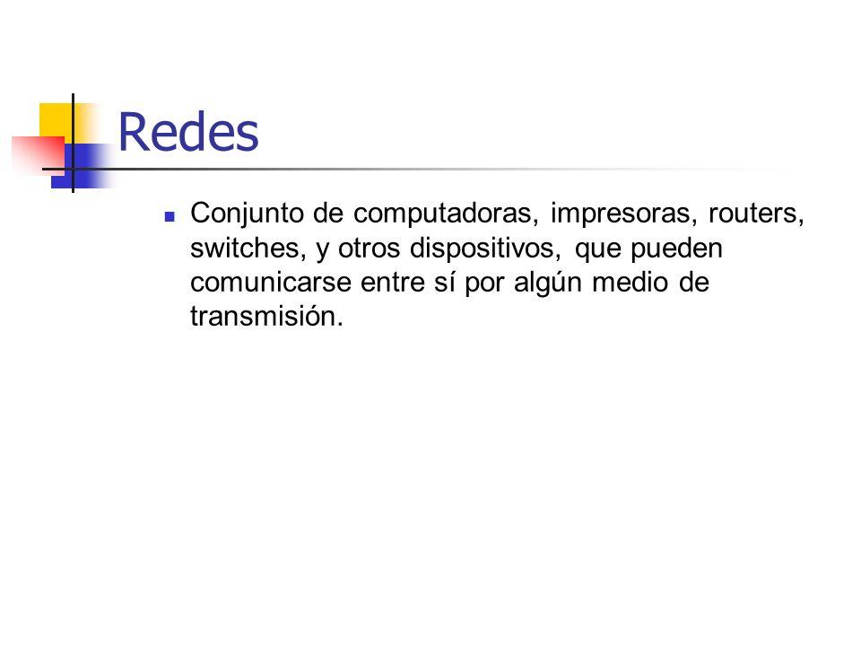Redes Híbridas Internetwork conformada de más de un tipo de tecnología de red, incluyendo LANs y WANs.